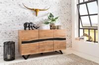 Design  Anrichte mit fesselndem Design Drei massive Standbeine - Zwei davon nach aussen gerichtet Moderner Landhausstil mit wuchtigem Erscheinungsbild...