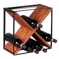 Sie sind auf der Suche nach einem modernen und praktischem Weinregal fuer Ihr zuhause? Massivholz Weinregal von WOHNLING.   Wofuer geeignet? Das freistehende...