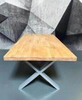 Massivholztisch Esszimmer Buche 200x 100 cm 1