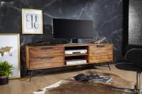 Design  Aussergewoehnliches Lowboard im angesagten Industrial-Look Schubladen und Ablagefach bieten viel Stauraum Individuelle Maserung und Farbgestaltung...