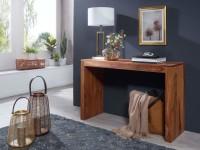 Wofuer geeignet? Durch die Hoehe von 75 cm ist die Konsole sowohl als Esstisch, als auch als Schreibtisch fuer die kleine Arbeitsecke verwendbar. Die Tiefe...