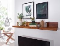 Wofuer geeignet? Das Wandregal eignet sich ideal als Dekoregal ueber dem Fernseher oder im Flur - Montagematerial fuer Wandhalterung inklusive   FSC®...