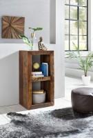 Design  Rechteckiger Beistelltisch im Vintage - Shabby Look Design Zwei Innenraeume dienen als zusaetzliche Ablagemoeglichkeiten Individuelle Maserung und...