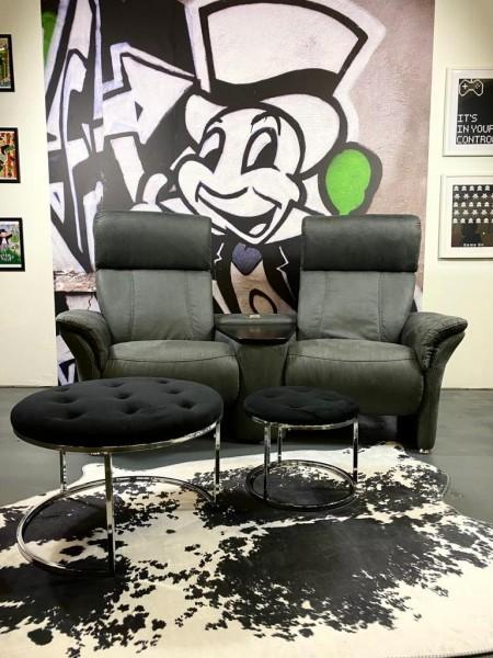 Sofa Magic Grau Alcantara 200 x 83 cm