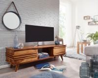 Wofuer geeignet? Durch die grosse Ablageflaeche lassen sich Fernseher von fast allen Groessen problemlos darauf platzieren. Das offene Fach. die Schublade...