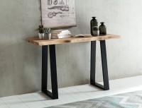 Design und Verwendung: Die natuerlichen Unebenheiten und die Wuchtigkeit machen die Konsole einzigartig. Durch die kompakte Groesse von 120 cm findet man...