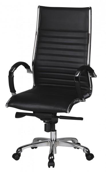Information zu den Rollen: Im Lieferumfang sind 5 Hartbodenrollen enthalten. Sollten Sie den Stuhl auf weichen Boeden (Teppich, Filz…) verwenden wollen, empfiehlt es sich Weichbodenrollen separat zu erwerben. Auch die Anbringung von Bodengleitern i