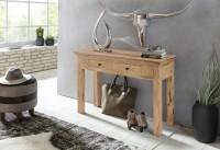 Wofuer geeignet? Durch die Hoehe von 76 cm ist die Konsole sowohl als Esstisch, als auch als Schreibtisch fuer die kleine Arbeitsecke verwendbar. Die Tiefe...