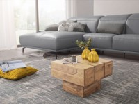 Wofuer geeignet? Der Beistelltisch ist durch die quadratische Form ideal als Tischchen oder Ablage in der Ecke geeignet   FSC® zertifizierte Ware: Bei dem...