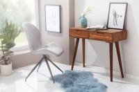 Design  Bezaubernder Konsolentisch im rustikalen Landhausstil Rechteckige Tischplatte bietet eine angenehm grosse Abstellflaeche Ausgestattet mit zwei...