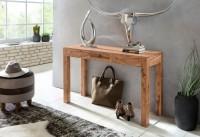 Wofuer geeignet? Durch die Hoehe von 70 cm ist die Konsole sowohl als Esstisch, als auch als Schreibtisch fuer die kleine Arbeitsecke verwendbar. Die Tiefe...