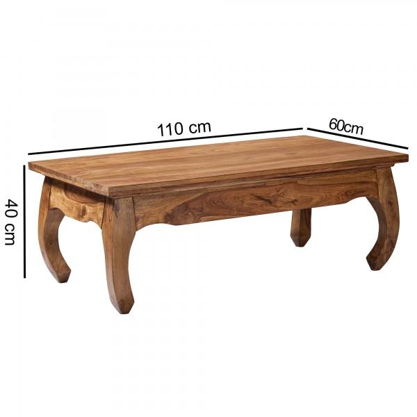 Sie sind auf der Suche nach einem modernen und praktischem Couchtisch fuer Ihr zuhause? Massivholz Couchtische von WOHNLING.   Wofuer geeignet? Mit einer Breite von 110 cm und einer Tiefe von 60 cm bietet er ausreichend Abstellmoeglichkeiten und ist