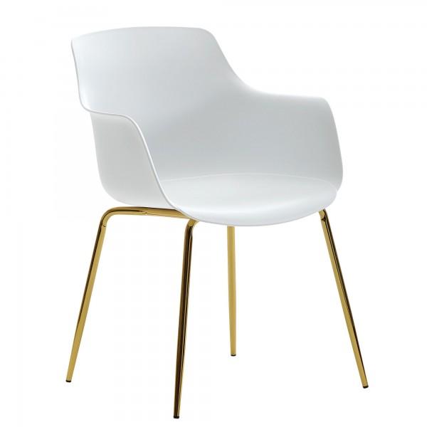 Design  Moderne Esszimmerstuehle in skandinavischem Design Angenehm geformte Sitzschale mit praktischen Armlehnen Sitz und Beine in toller Farbkombination Abmessungen   Breite: 60 cm Hoehe: 80 cm Tiefe: 56 cm Sitzhoehe: 42 cm Sitzflaeche (BxT): 42 x