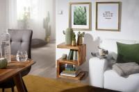 Wofuer geeignet? Mit einer Hoehe von 60 cm ist der Tisch individuell einsetzbar - Durch die S Form entstehen weitere Ablageflaechen fuer Zeitungen oder...