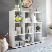Design  Modernes Buecherregal in zeitlosem Design Schlichtes Wohnregal mit insgesamt 8 Regalfaechern Zahlreiche Ablagemoeglichkeiten aufgrund der Faecher und...