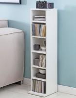 Design  Funktionelles Moebelstueck fuer Ihre Wohnraeume CD-Regal mit 6 offenen Faechern Puristische Gestaltung durch helle Farbe und einfache Formgebung...