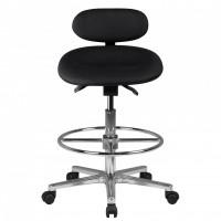 Design  Modernes und zeitloses Design Hoehenverstellbare Sitzflaeche und Rueckenlehne bietet optimalen Sitzkomfort Sitz aus PU-Formschaum mit speziell...