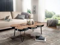 Wofuer geeignet? Mit einer Breite von 115 cm und einer Tiefe von 70 cm bietet er genuegend Abstellmoeglichkeiten um einen schoenen Abend im Wohnzimmer zu...