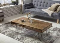 Sie sind auf der Suche nach einem modernen und praktischem Couchtisch fuer Ihr zuhause? Massivholz Couchtische von WOHNLING.   Wofuer geeignet? Mit einer...