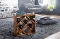 Design  Kleines Flaschenregal in modernem Design Kombination aus Eleganz &amp  Funktionalitaet Insgesamt koennen acht Flaschen Wein eingelagert werden...
