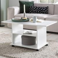 Design  Stilvolle und elegante Gestaltung - Hingucker fuer Ihre Wohnraeume Couchtisch mit mehreren Ablagemoeglichkeiten Zeitlose und moderne Optik...