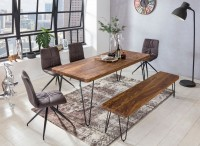 Sie sind auf der Suche nach einem modernen und praktischem Esstisch fuer Ihr zuhause? Massivholz Esstische von WOHNLING.   Wofuer geeignet? Die 200 cm breite...