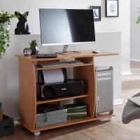 Design  Moderner Computertisch mit einer Ablage fuer einen PC Zeitloses Design - fuegt sich perfekt in Ihr vorhandenes Mobiliar ein Viele...