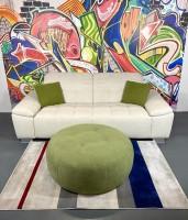 Big Sofa Fuerto Sand Strukturstoff/Weich 245 x 110 cm