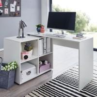 Design  Schreibtischkombination in zeitlosem Design Praktischer Buerotisch mit integriertem Regal Klare Formen praegen das Erscheinungsbild des Tisches...